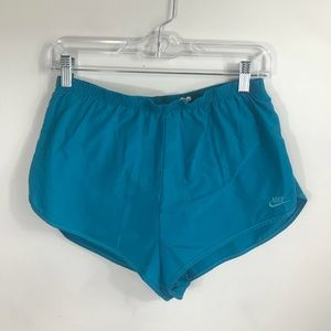 NIKE | Vintage Teal Running Shorts
